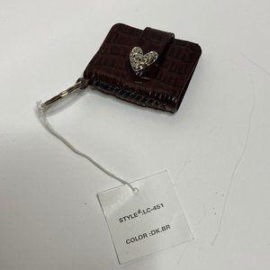 Brighton Genuine Leather Photo Keychain